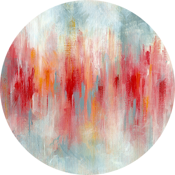 Red Reflection van Maria Kitano