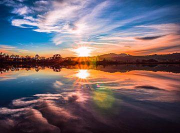 Sonnenuntergang im Allgäu von Mustafa Kurnaz
