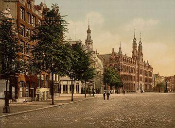 Het Oude Postkantoor, Amsterdam sur Vintage Afbeeldingen