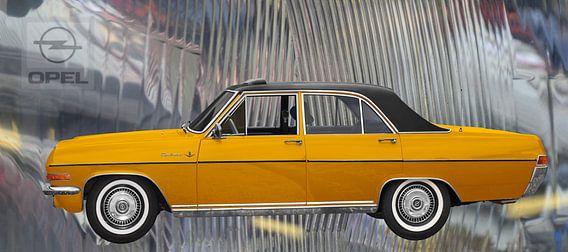 Opel Diplomat A op koplampen