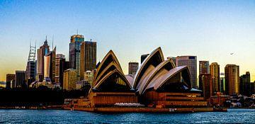 """""""Sydney Skyline"""" van Kaj Hendriks"""