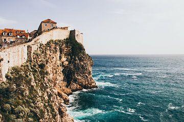 De muur van Dubrovnik van