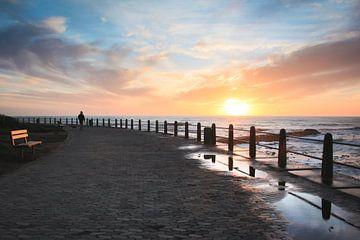 Sea Point Promenade at Dusk von Mark Wijsman