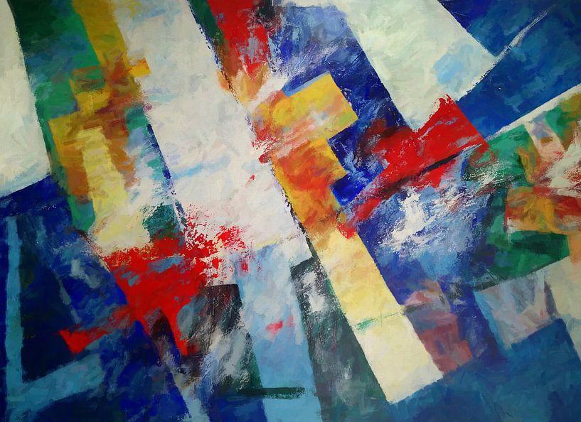 Abstrakte Komposition 611 von Angel Estevez