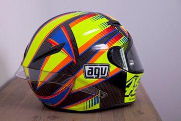 Valentino Rossi helm AGV von Ralph van Houten