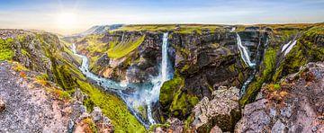 Panoramisch uitzicht op het paradijs