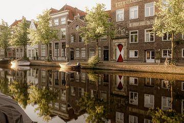 Oude Rijn in Leiden sur Dirk van Egmond