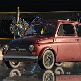 Fiat Abarth 595 de 1968 sur Jan Keteleer