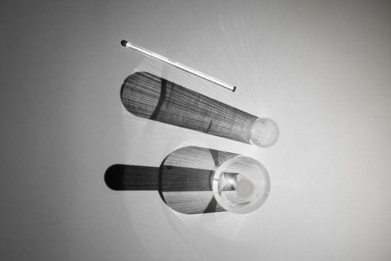 abstracte zwart/wit fotokunst