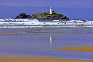 Küste Gwithian Cornwall