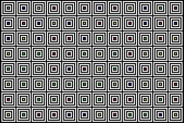 Nested | Center | 12x08 | N=04 | Random #01 | RGBY van Gerhard Haberern