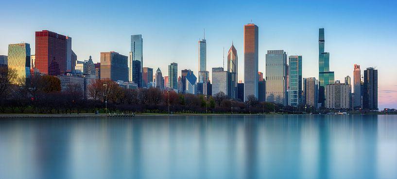 Le ciel de Chicago sur Reinier Snijders