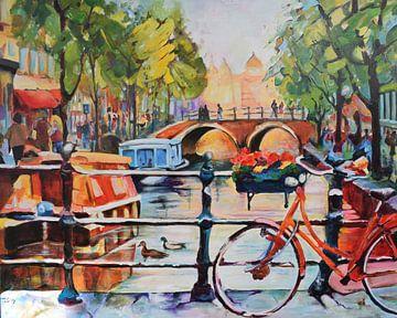 """Tagesausflug Amsterdam von Janny Schilderink......Atelier """"de Tuute """""""
