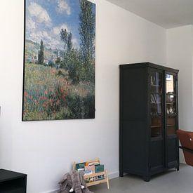 Kundenfoto: Ansicht von Vétheuil, Claude Monet von Meesterlijcke Meesters