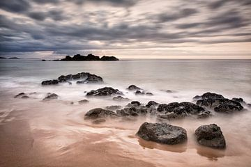 Kustlandschap Bretagne van Ko Hoogesteger