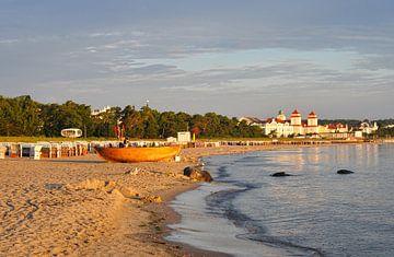 Morgens am Strand Ostseebad Binz von Andreas Horst
