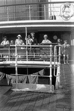 An Bord der 1920er Jahre von Timeview Vintage Images