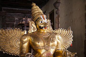 Garuda Staue, Indien van Jan Schuler