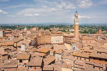 Uitzicht over Siena 1 van Kok and Kok