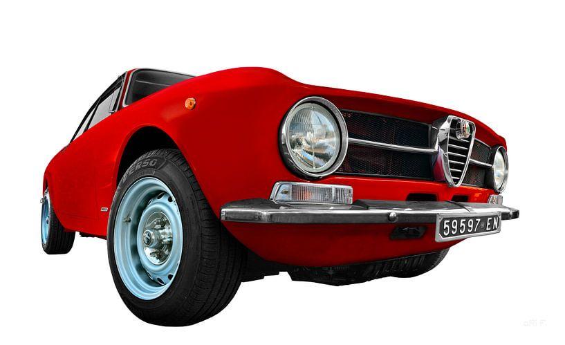 Alfa Romeo GT 1300 Junior in originele kleur van aRi F. Huber