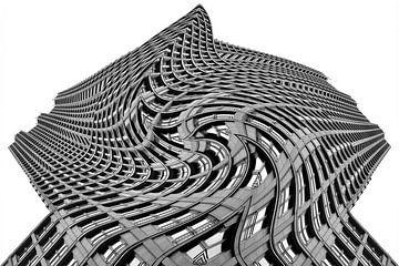 Bâtiments à La Haye différents 10 sur Hans Levendig