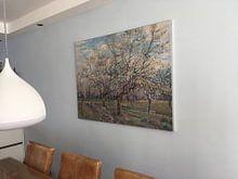 Klantfoto: White Orchid - Vincent van Gogh , als print op doek