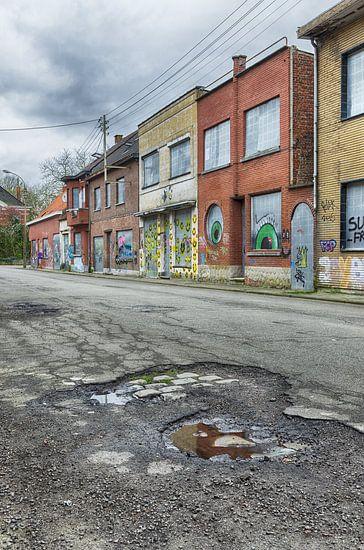 Vervallen straat