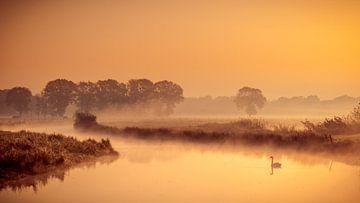 kalme zonsopkomst aan de Regge van Arnoud van der Aart