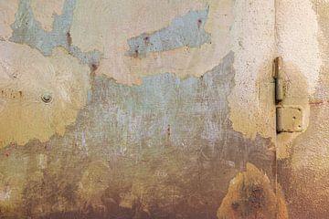Urbane Wand - braun und blau von JOJO