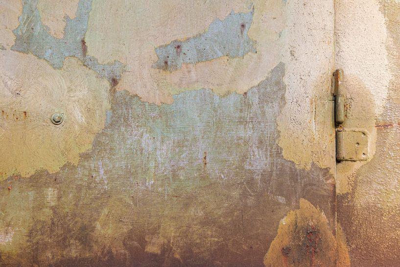 Urbane Wand - braun und blau von -  BIMBO  -