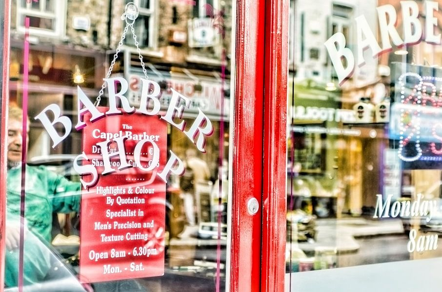 Kappers winkel van Gabsor Fotografie