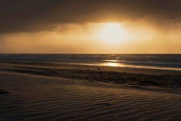 Goldener Sand am Strand