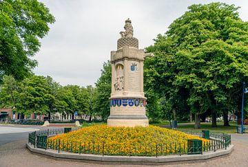 Nassau Barony Denkmal im niederländischen Breda von Ruud Morijn