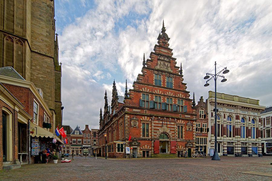 Vleeshal te Haarlem van Anton de Zeeuw