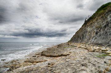 Ruige Normandische kust van Mark Bolijn