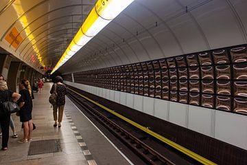 Metrostation in Praag van