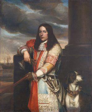 Portrait von Engel de Ruyter, Jan Andrea Lievens