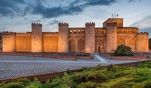 Aljaferia Palace in Zaragoza, Spanje