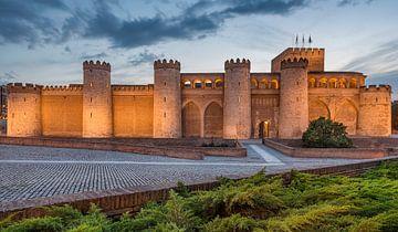 Aljaferia Palace in Zaragoza, Spanje van Lorena Cirstea