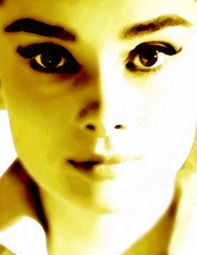 Audrey Hepburn Porträt von Dirk H. Wendt