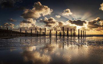 Wolken reflectie von MD Photos