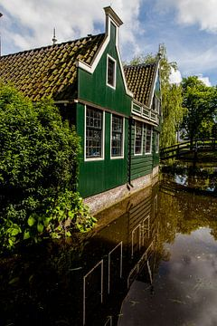 Dutch Zaanse houses in Holland, the Netherlands sur Natasja Tollenaar