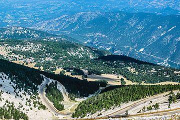 Op de top vd Mont Ventoux. van Patrick Vercauteren