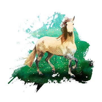 Het prachtige paard van Angela Dölling