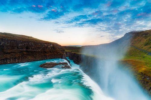 Islands Wasserfälle III van Daniela Beyer