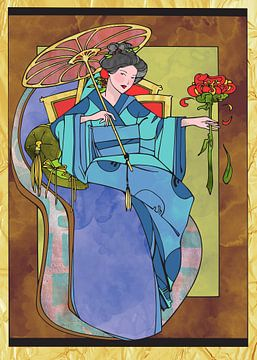 Orientalische Frau 3 von Ariadna de Raadt