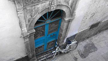 Verlaten fiets von Marije van den Wijngaard