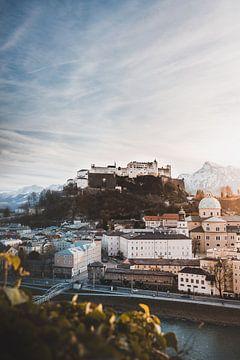 Salzburg | Winter in de Alpen van Nanda van der Eijk