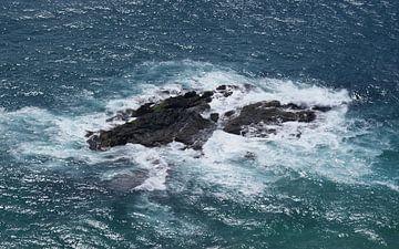 Rots Cape Rianga Nieuw Zeeland van Dennis Rietbergen