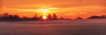 Sonnenaufgang in den Niederlanden von Capturedlight.nl Annet & Michel